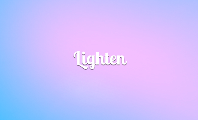 lighten