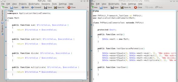 PHPUnit - Outros métodos de operações matemáticas simples