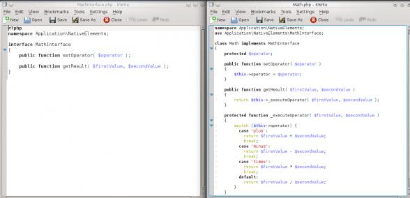 PHPUnit - refatoração da classe Math