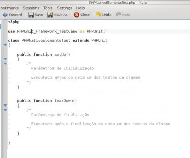 PHPUnit - Estrutura inicial do primeiro teste