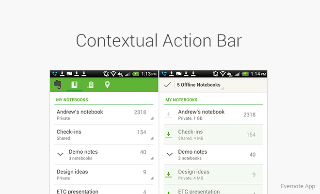 contextal-action-bar