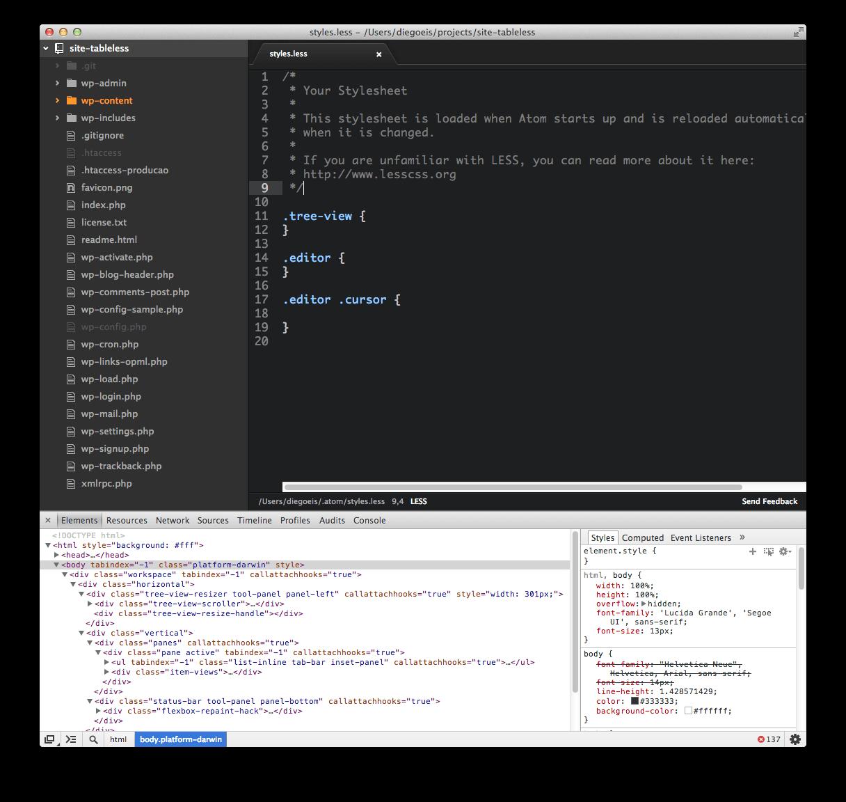 Atom editor github
