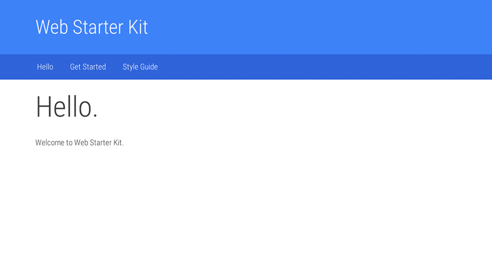 web-starter-kit-home
