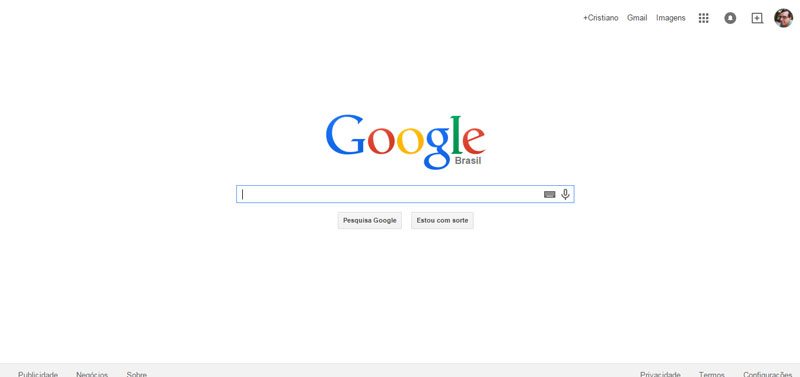 """""""Don't be evil"""" - Frase conceito do Google usada como norte em todos os projetos."""
