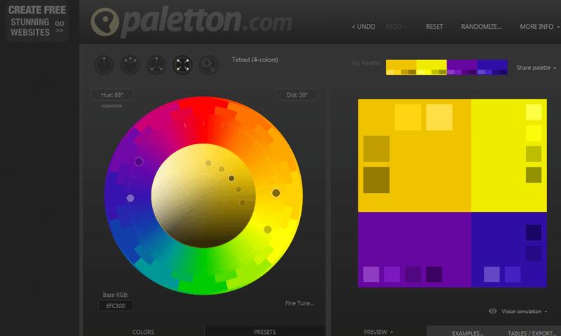 Paletton - Paleta de Cores