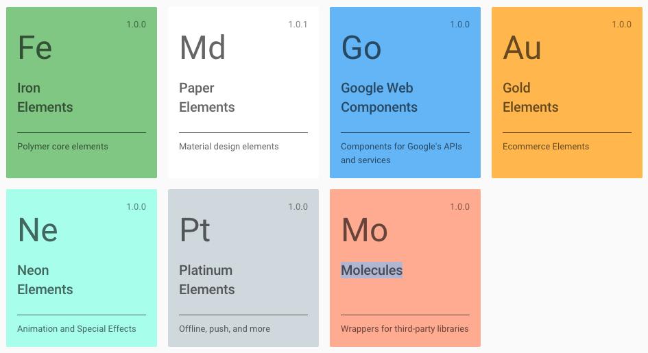Novo Polymer Elements Catalog