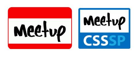 Logos Meetup e Meetup CSS SP