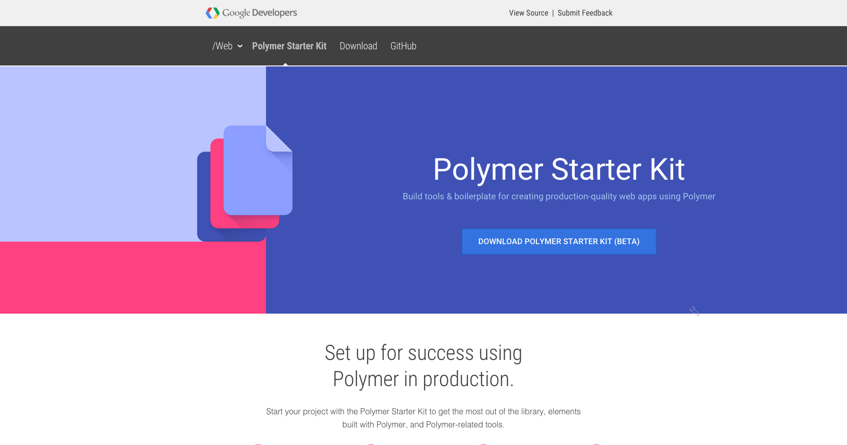 Site do Polymer Starter Kit