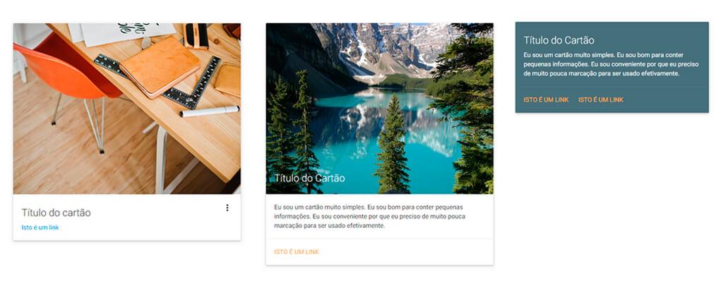Material Design com Materialize - Tableless - Website com artigos e