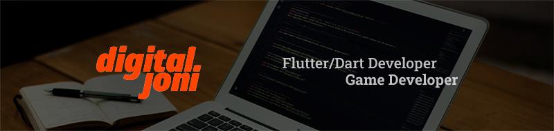 Flutter/Dart Developer x Game Developer