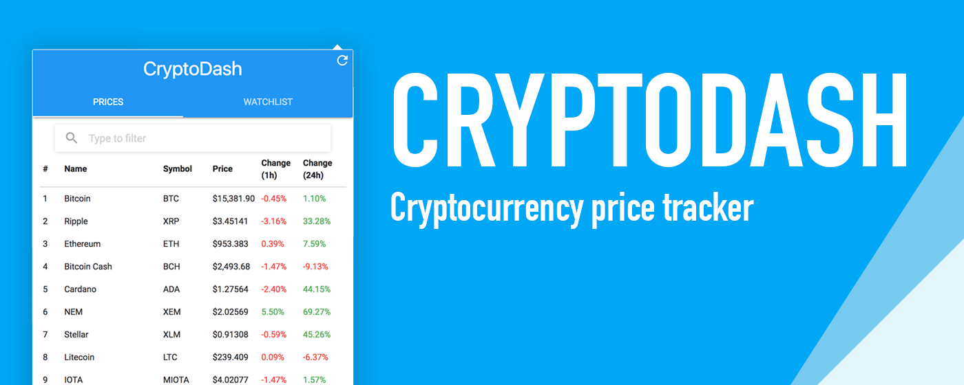 Cryptodash Screenshot
