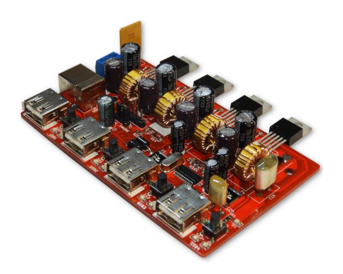 Prototype version of USB hub