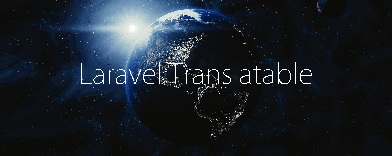 Laravel Translatable