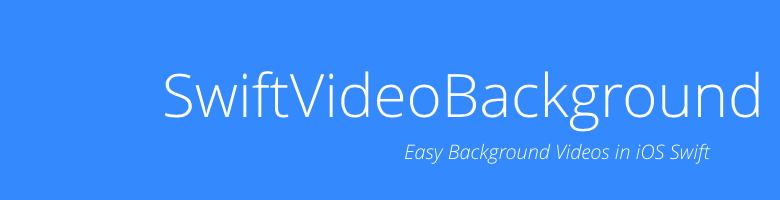 SwiftVideoBackground