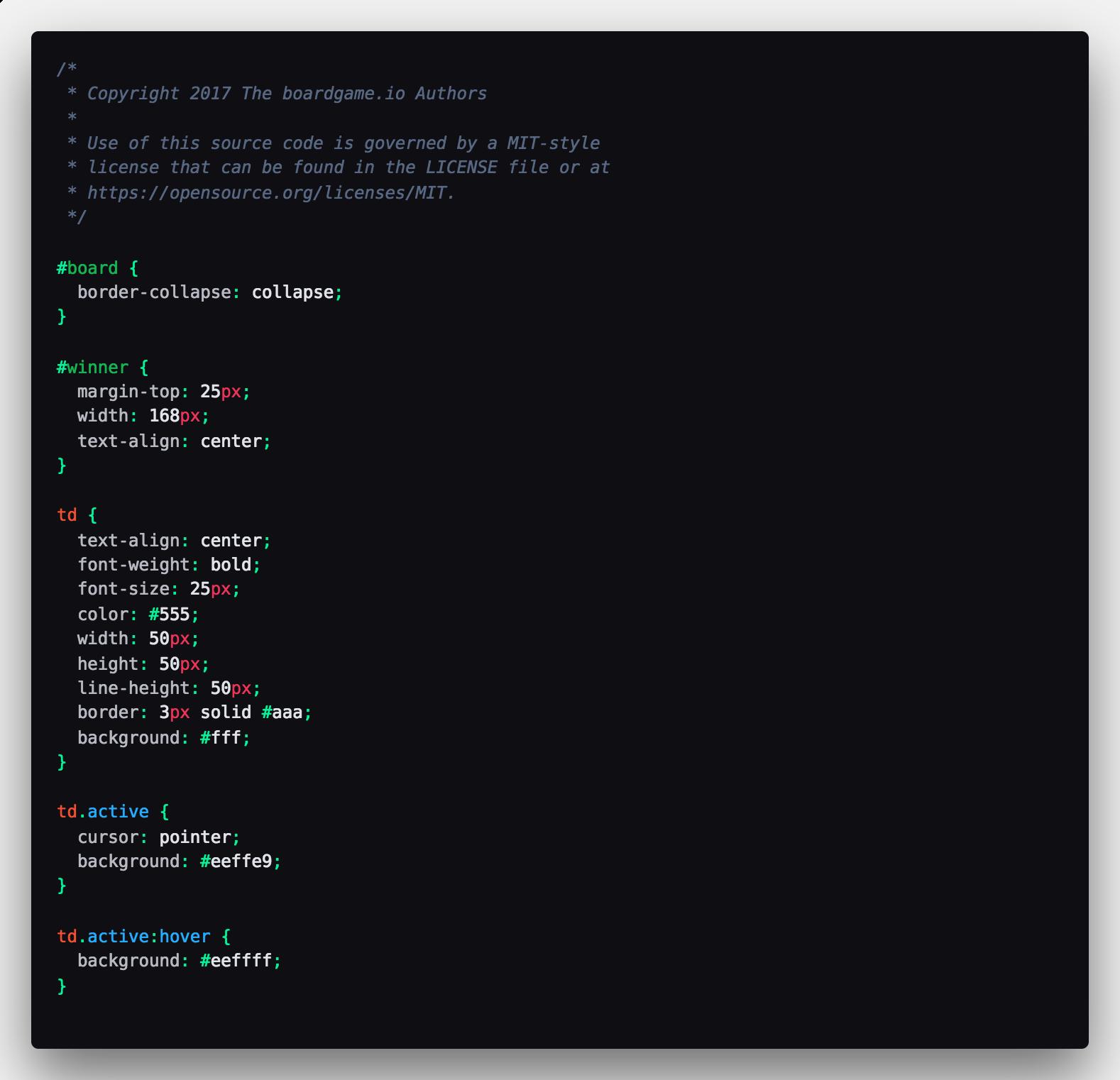 CSS Screenshot