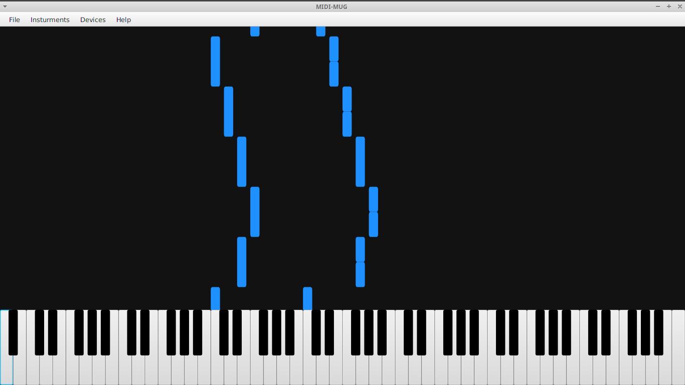 MIDI-MUG Screenshot