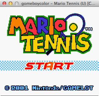 Mario Tennis 1
