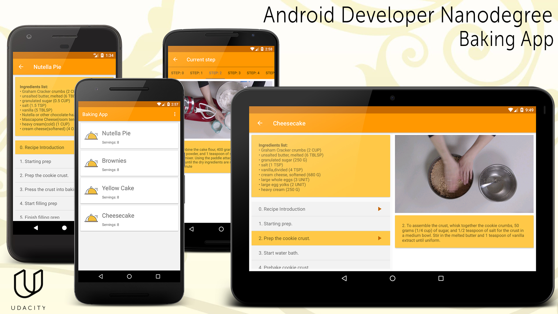 Github Djkovrik Bakingapp Udacity Android Developer Nanodegree