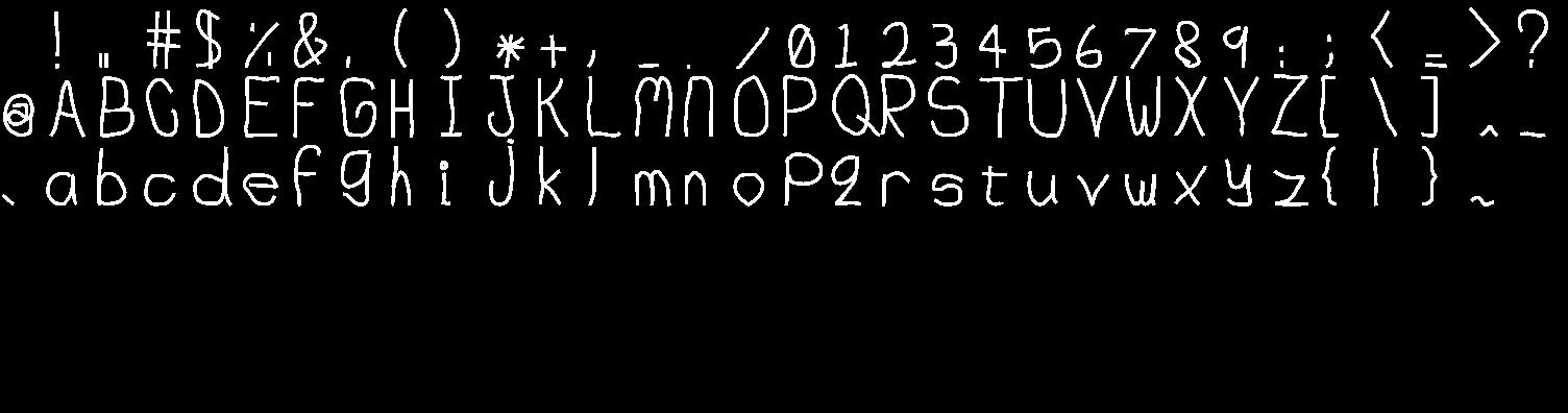 70 Point Junkyard Font