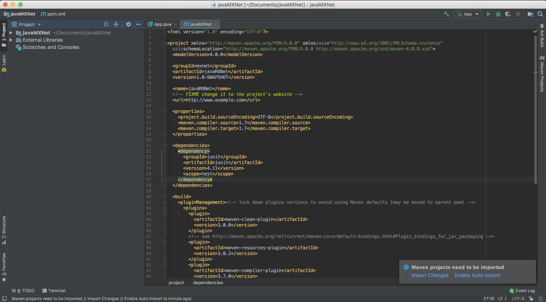 Run MXNet Java Examples Using the IntelliJ IDE (macOS) — mxnet