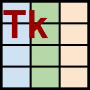 GitHub - dmnfarrell/tkintertable: A python library for adding tables