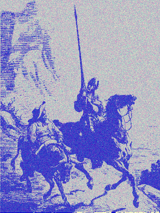 Encoded Quijote book