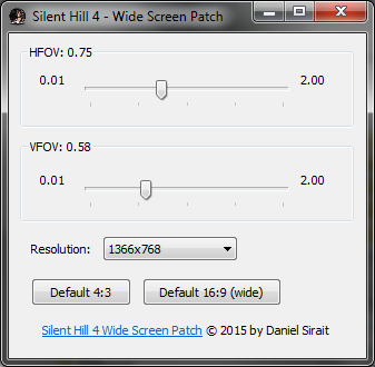 GitHub - dns/Silent-Hill-4-Wide-Screen-Patch: Silent Hill 4