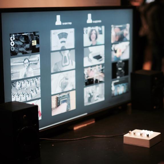 NOMNOM 2: The Video Machine at the NYU ITP Winter Show 2016