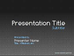 LibreOffice Impress Templates
