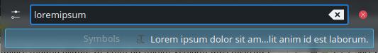 "Demonstration ""loremipsum"""