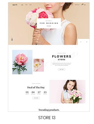 Prestashop Flower store