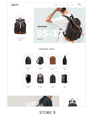 backpack store Prestashop