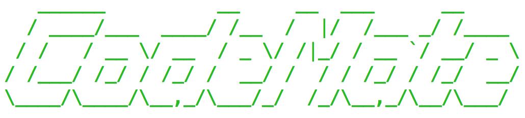 ASCII logo here