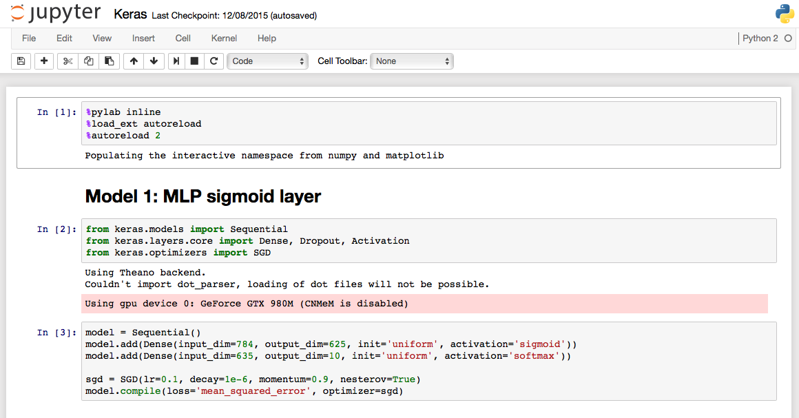 Language In 45 And 47 Stella Street: Jupyter For Torch