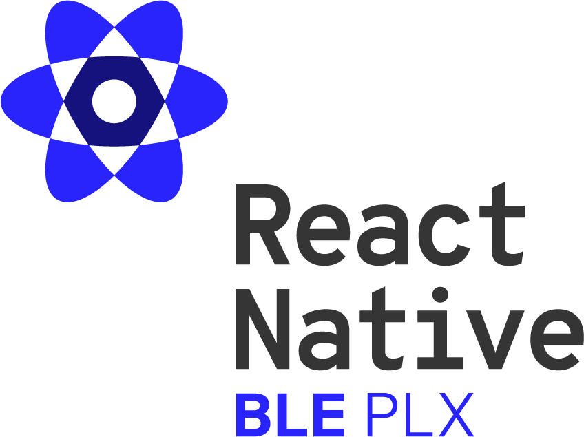 react-native-ble-plx library logo