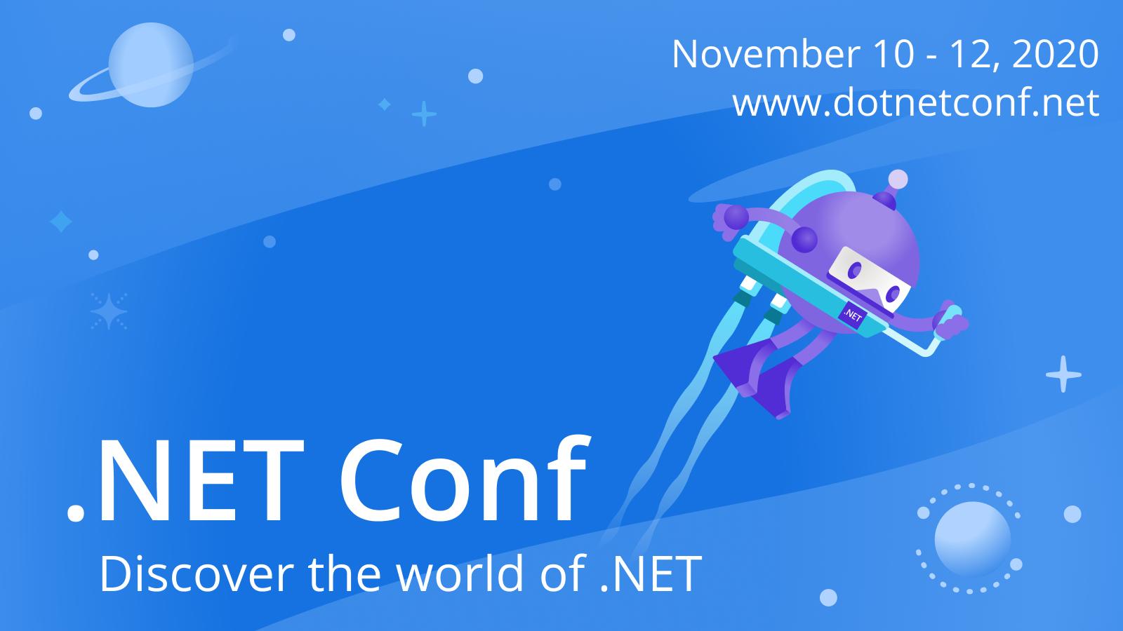 .NET Conf 2020 Banner