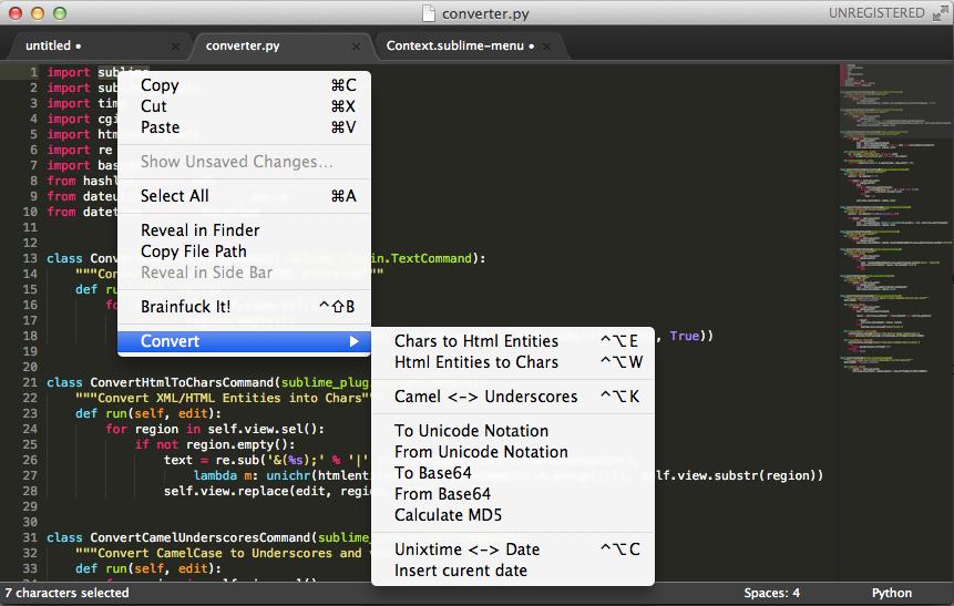 converter screenshot