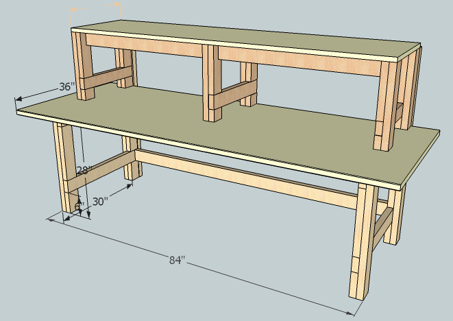 Electronics Workbench #2: Sketchup Model - by LegendInMyOwnMind ...