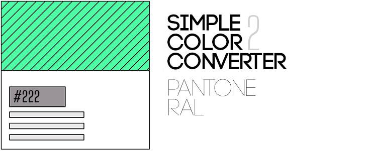 simple color convertor logo