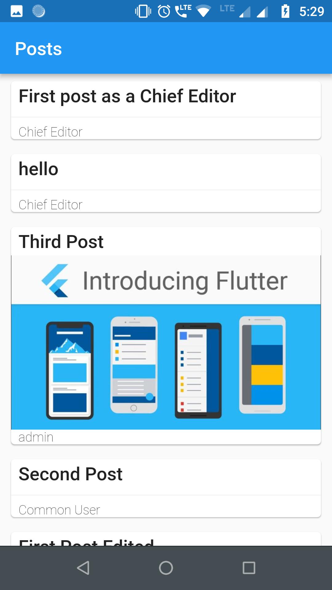 Flutter WordPress Library