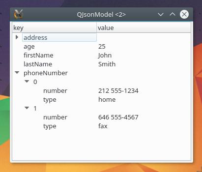 GitHub - dridk/QJsonModel: Qt Json Tree Model