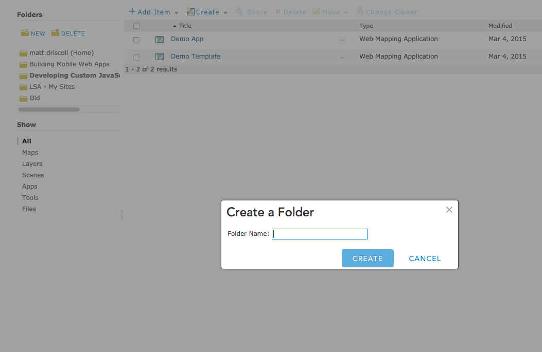 how to create new folder in github