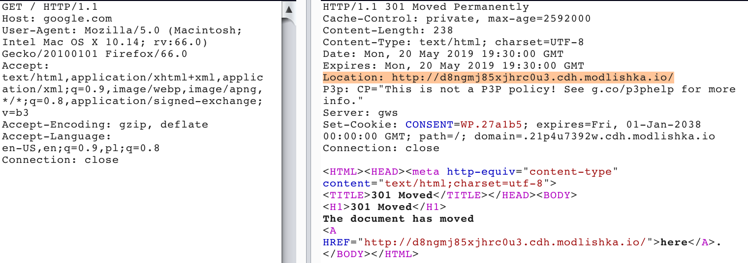 Permanent URL Hijack Through 301 HTTP Redirect Cache