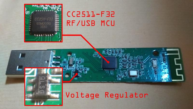 RF/USB and Voltage Regulator