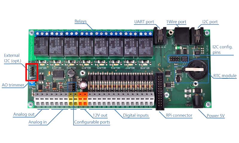 External I2C Header