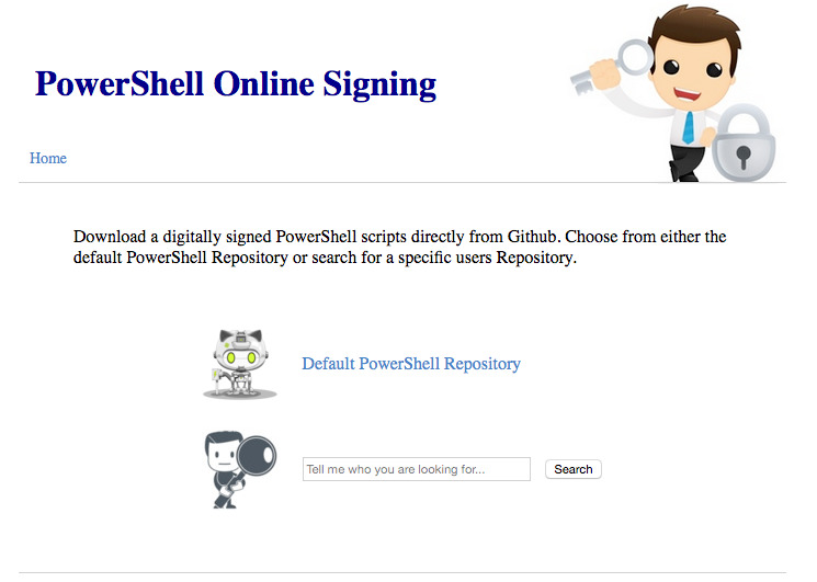 GitHub - dscoduc/PowerShellOnlineSigningService: Automated digital