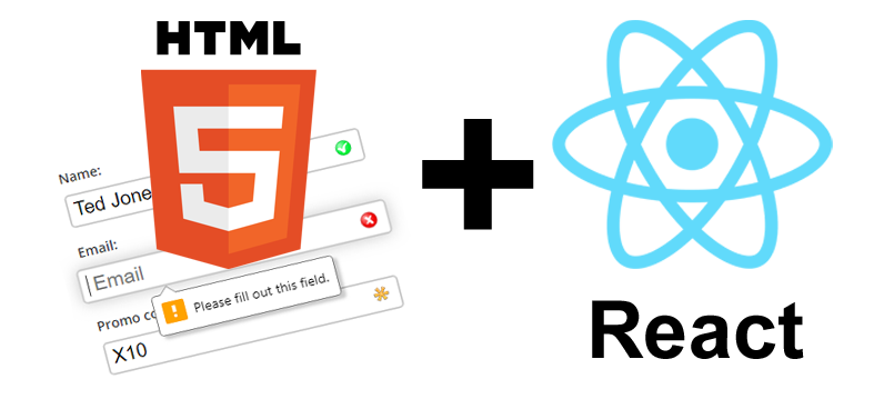 React meets HTML Form Validation