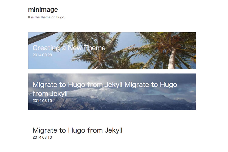 minimage's screenshot