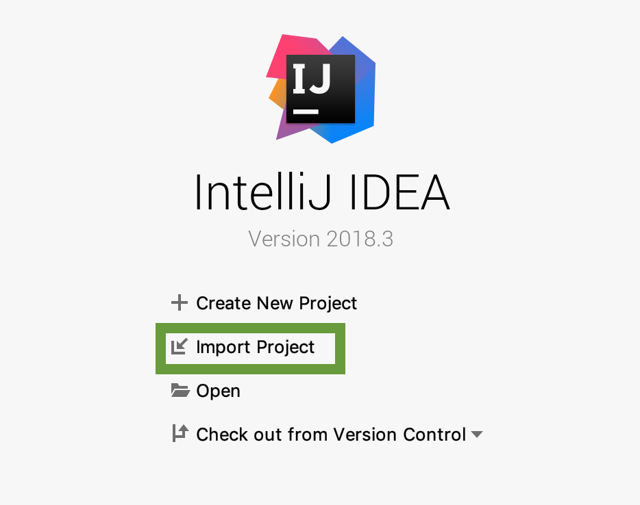 Import to IntelliJ 0