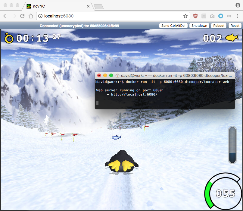 Wow! It's Tux Racer In Your Browser! | tuxracer-web